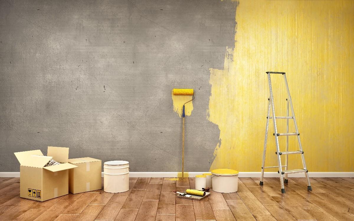 chantier de peinture intérieure à Montfermeil | Tehni Oros